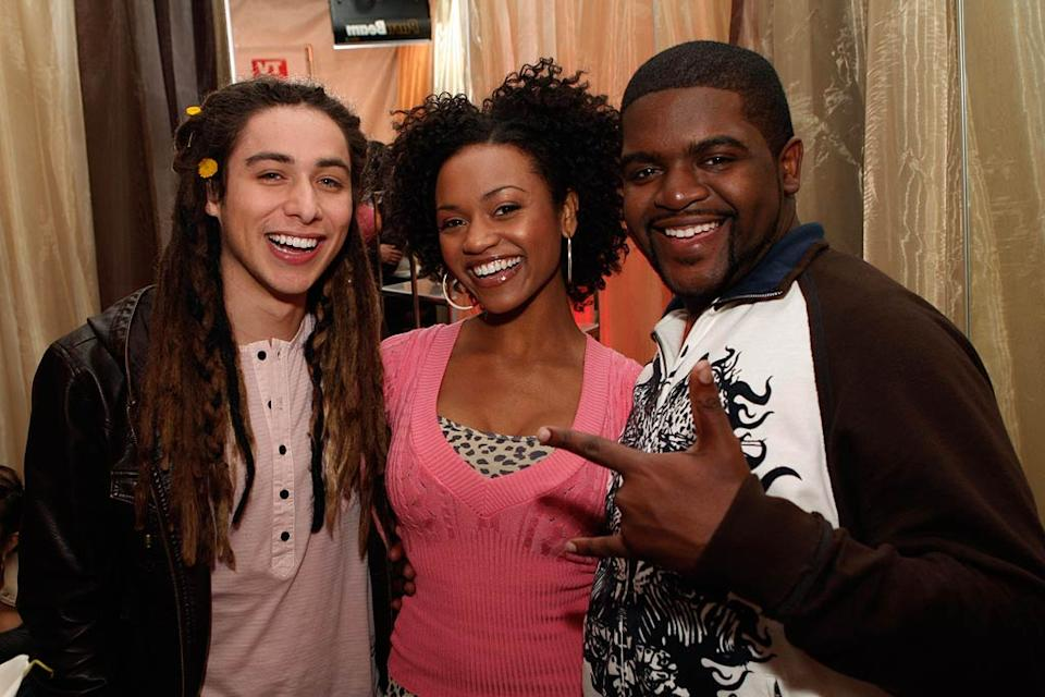 Finalists Jason Castro, Syesha Mercado and Chikezie celebrate at the American Idol Top 12 Party Syesha Mercado