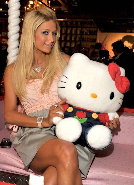 Paris Hilton Hello Kitty