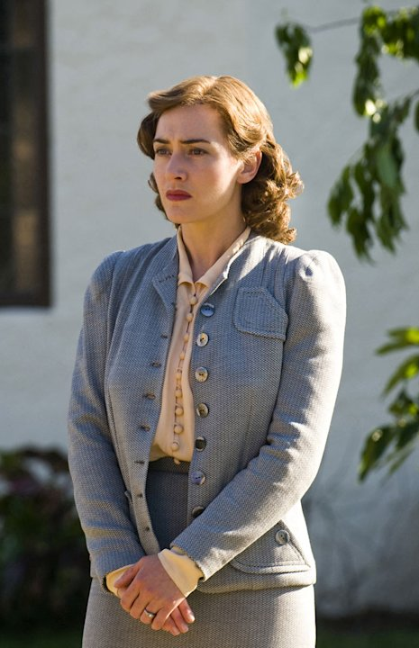 "Kate Winslet stars as Mildred in ""Mildred Pierce."""
