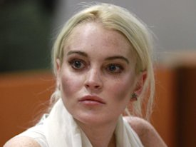 lindsay lohan attends progress report hearing airport branch courthouse 2011