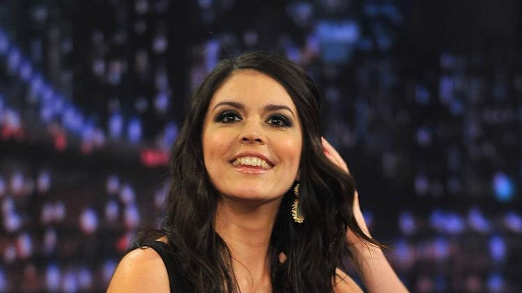 "Cecily Strong Visits ""Late Night With Jimmy Fallon"""
