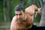 Article on Akshay Kumar's fitness mantra. Talks about Akshay Kumar's fitness regime and fitness routine. Provides tips on body building by revealing Akshay's fitness secrets that include his workout secrets and diet