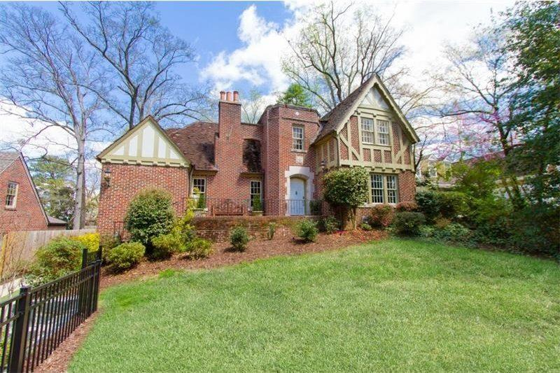 On the Market: Brick-y Tudor 'Castle' in Morningside Fit for Culinary King