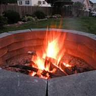 First person: Building a backyard fire pit in a weekend