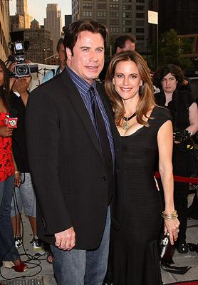 John Travolta and Kelly Preston at the New York premiere of 20th Century Fox's Death Sentence