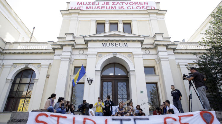 Bosnia's National Museum closes after 124 years