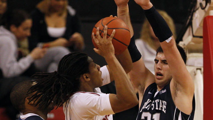 NCAA Basketball: Penn State at Nebraska