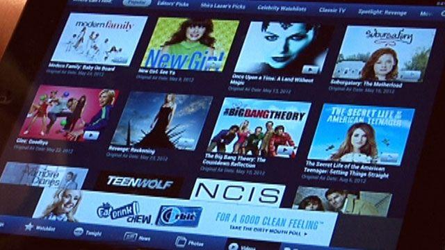 Watch your favorite programs instantly with the TV Guide app