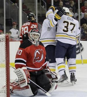 Sabres snap 12-game road skid