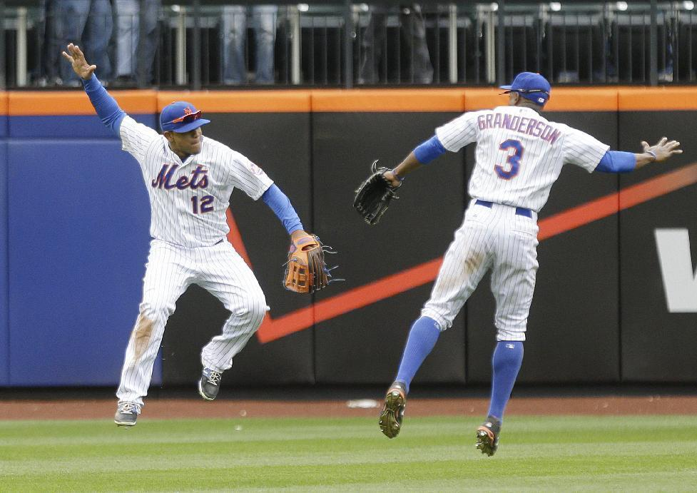 Mets win 11th straight to tie team record, 6-3 over Braves