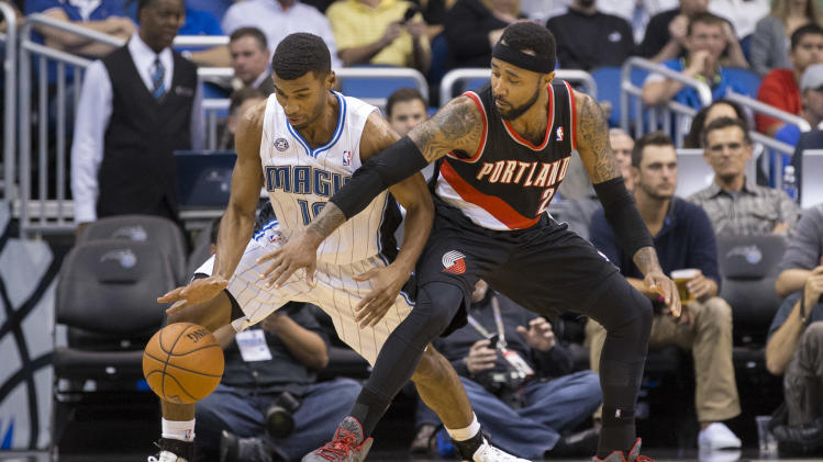 Big 2nd half lifts Magic over Trail Blazers, 95-85