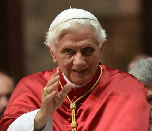 Pope Benedict XVI has warned that priests who questioned the church over celibacy were being self-serving