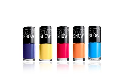MAYBELLINE NEW YORK COLOR SHOW NAIL LACQUER, $3.99