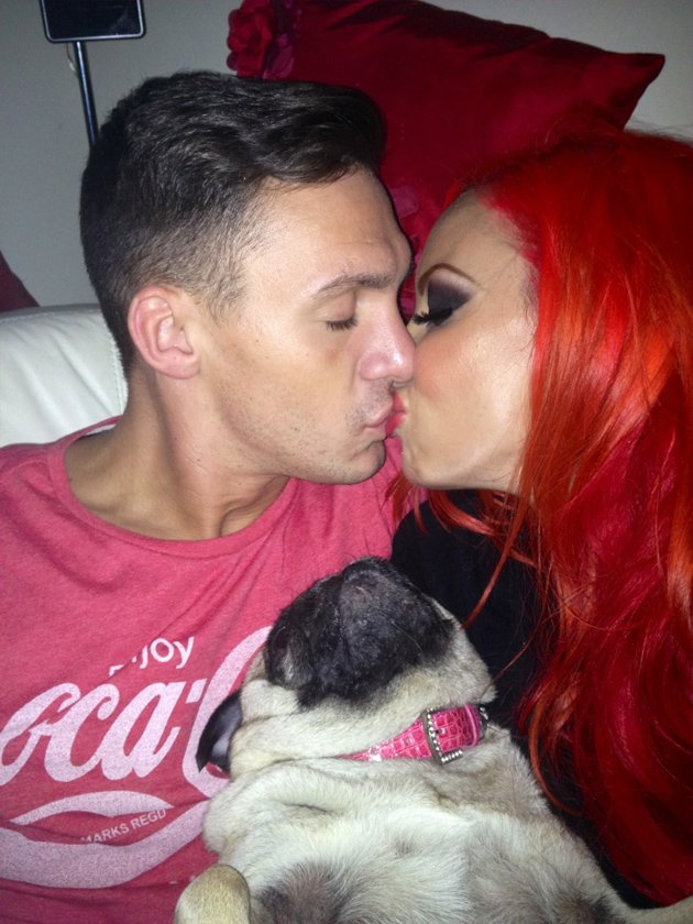 Jodie Marsh and Kirk Norcross