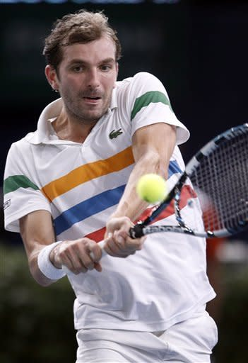 Benneteau downs Troicki 6-4, 7-5 at Paris Masters