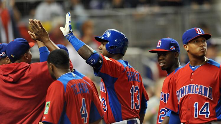Baseball: World Baseball Classic-Dominican Republic at United States