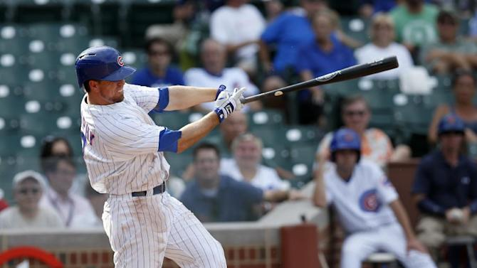 Cubs hit 4 HRs, power past Marlins 9-7