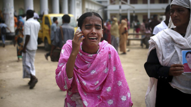 Bangladesh toll 547; search becomes more gruesome