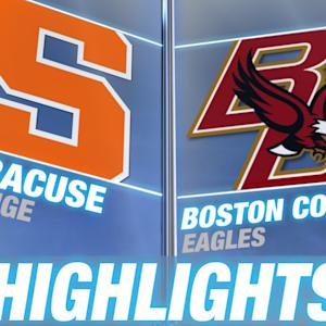 Syracuse vs BC | 2015 ACC Women's Lacrosse Championship Highlights