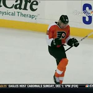Vincent Lecavalier unleashes a PP blast