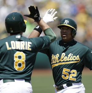 Cespedes homers in A's 4-2 win