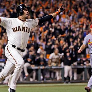 Ishikawa's Homer Sends Giants to World Series