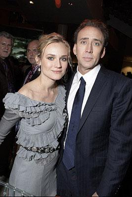 Diane Kruger and Nicolas Cage at the New York City premiere of Walt Disney Pictures' National Treasure: Book of Secrets