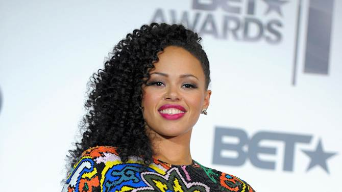 """FILE - This July 1, 2012 file photo shows R&B singer Elle Varner posing at the BET Awards in Los Angeles. Varner's debut album """"Perfectly Imperfect,"""" which debuted at No. 2 on Billboard's R&B/Hip Hop albums chart last month and currently sits at No. 11, proves it can appeal to generations of fans. She's also been recognized for her work with a Soul Train Awards Best New Artist nomination, which she called a shock after discovering it through congratulations on Twitter. (Photo by Jordan Strauss/Invision/AP, file)"""