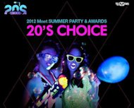 [20′s Choice Awards] LIVE BLOG