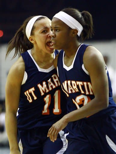 UTM women beat Tenn Tech 87-80 in OT for OVC title