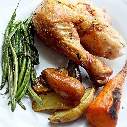 Cook: Rosemary Garlic Roasted Chicken