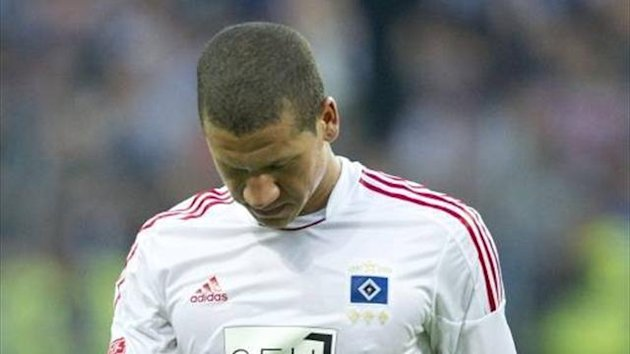 Hamburg defender Jeffrey Bruma