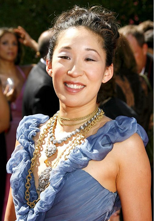 Sandra Oh at The 58th Annual Primetime Emmy Awards.