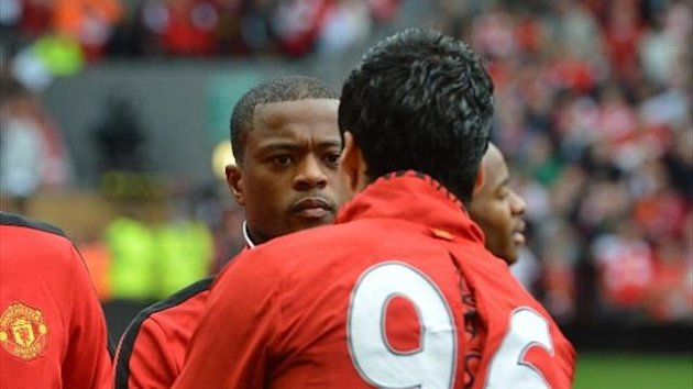 Suarez Evra Manchester United Liverpool