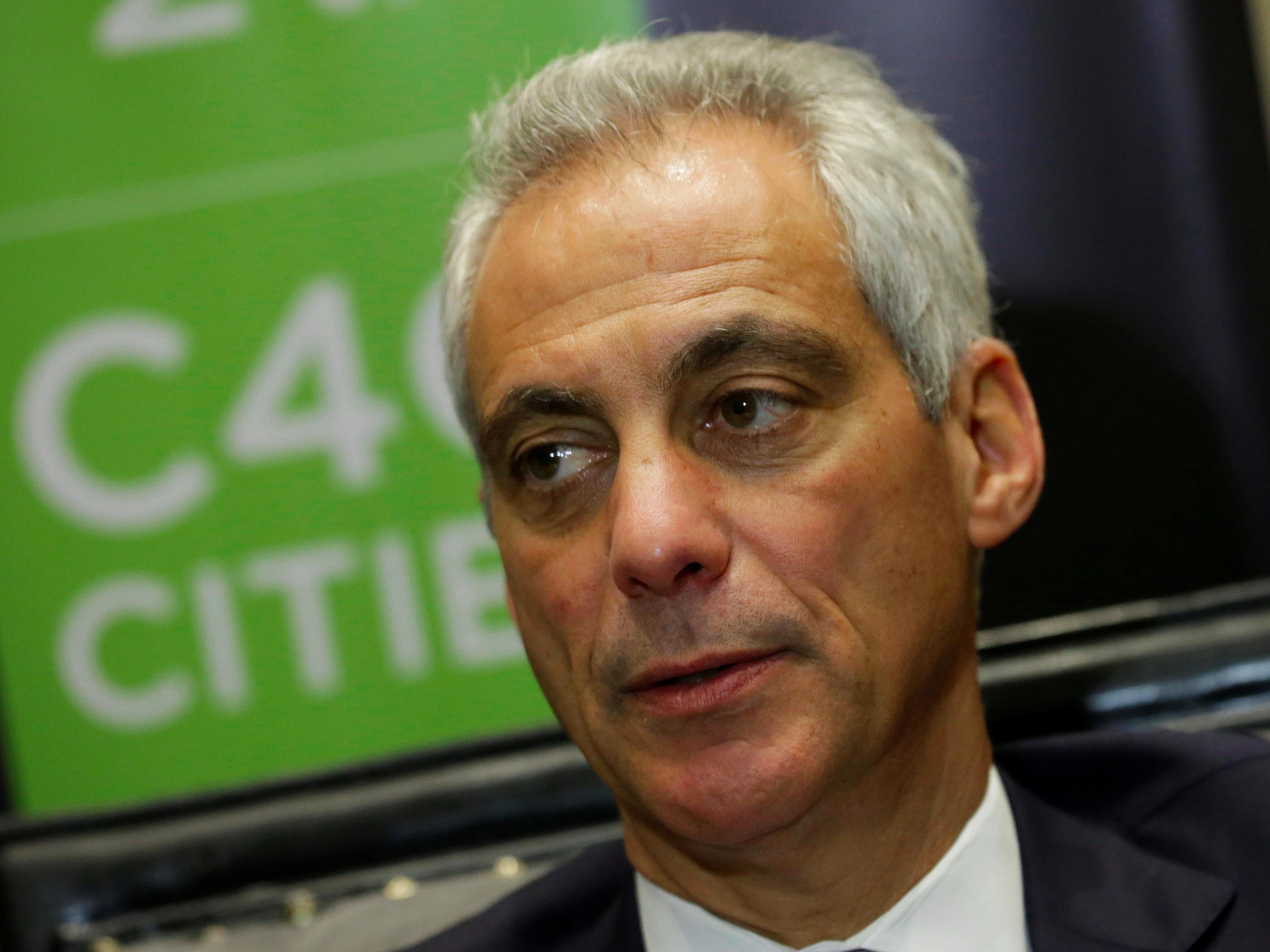 Rahm Emanuel personally delivers letter to Trump asking him to shield young immigrants from deportation