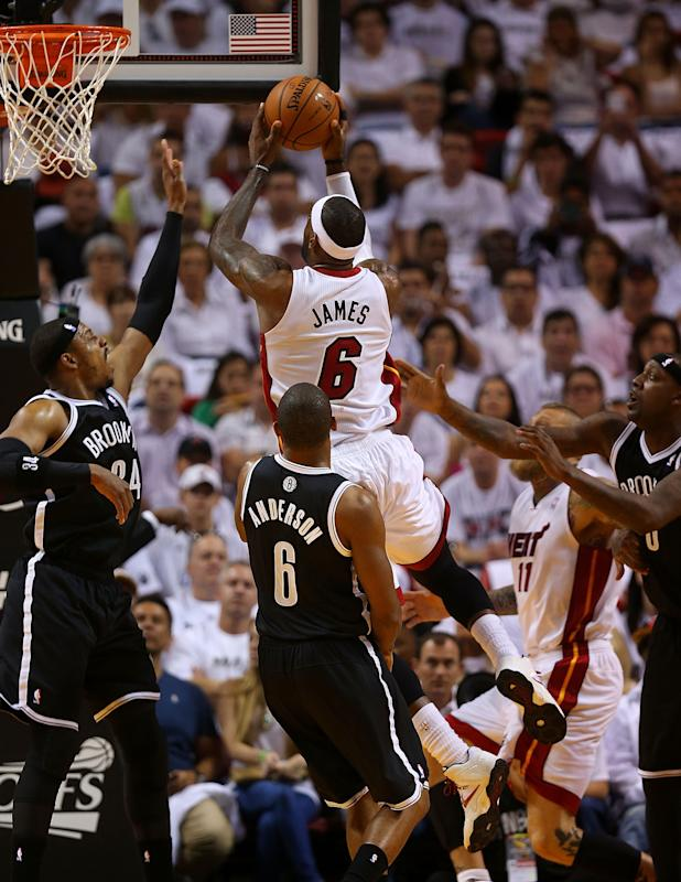 Brooklyn Nets v Miami Heat - Game One