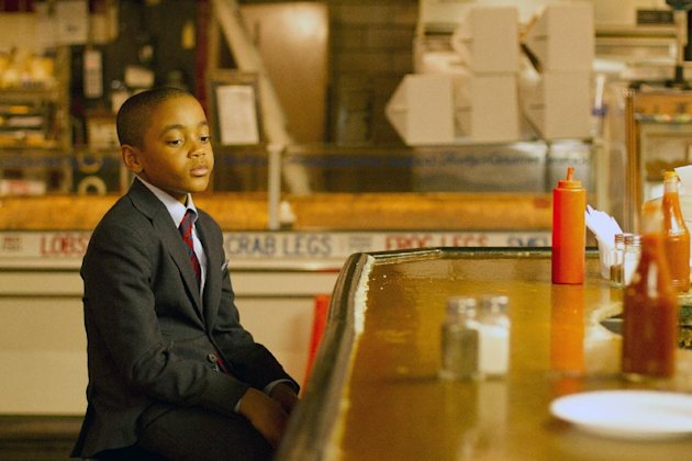This film image released by Indomina shows Michael Rainey Jr. in a scene from &quot;Luv.&quot; (AP Photo/Indomina, Bill Gray)