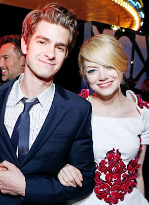 "Emma Stone and Andrew Garfield Are in ""No Rush to Get Engaged"""