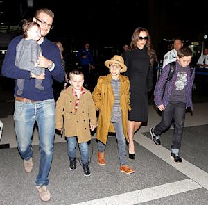 See How David Beckham, Kids, Feted Victoria Beckham for Her Birthday