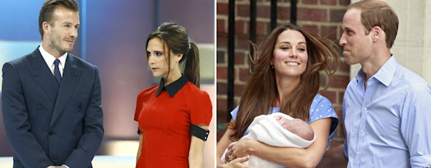 The Beckhams and the Cambridges