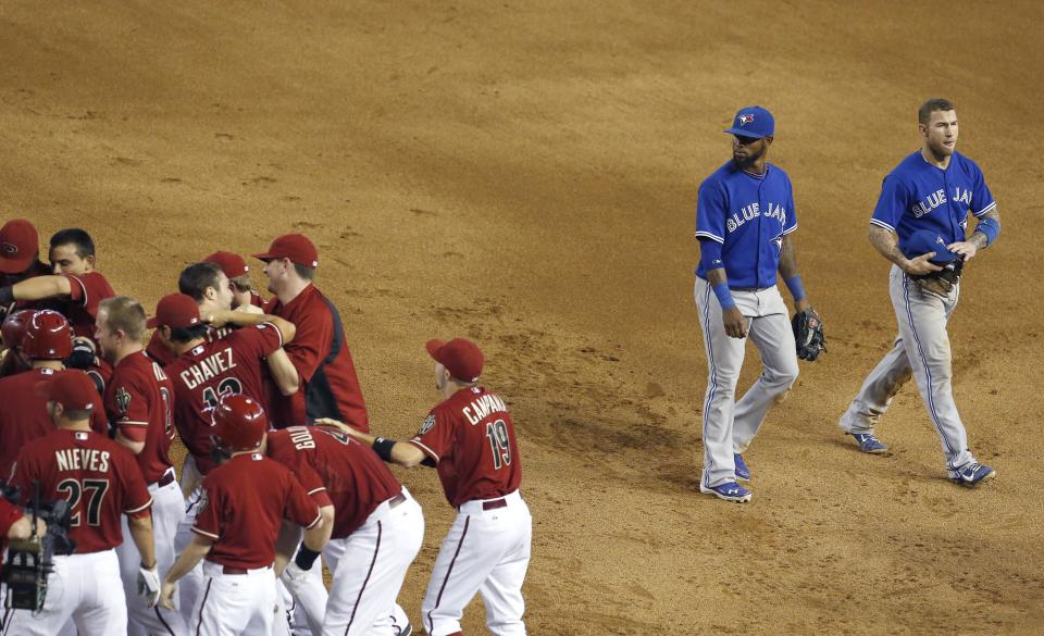 Diamondbacks beat Blue Jays 4-3 in 10 innings