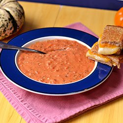 Tomato Bisque with a Slight Kick
