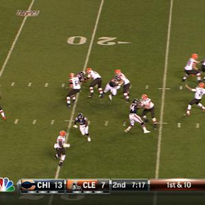 Cleveland Browns quarterback: From fumble to front runner