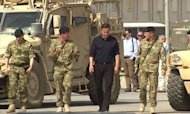 Cameron Holds Talks With Afghanistan's Karzai