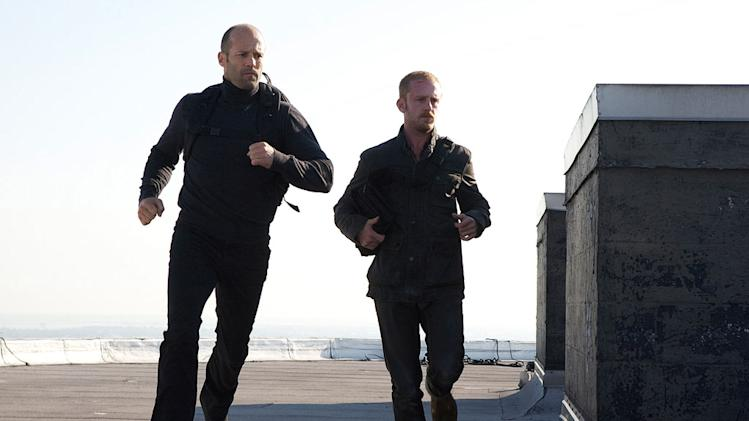 The Mechanic CBS Films 2011 Jason Statham Ben Foster