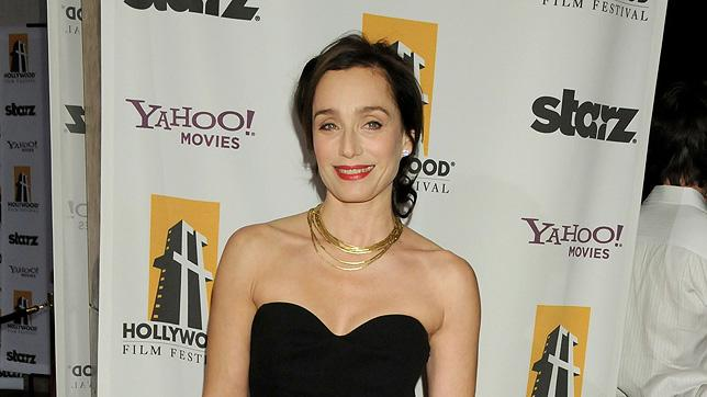 Hollywood Film Festival Awards Gala 2008 Kristin Scott Thomas