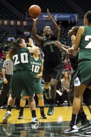 No. 1 Baylor beats Hawaii 77-42; Griner scores 10