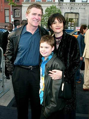 Treat Williams and family at the New York premiere of Dreamworks' Hollywood Ending