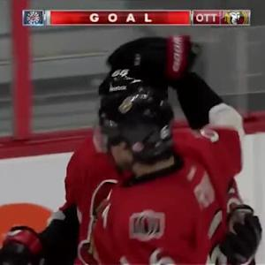 Mike Hoffman Goal on Jimmy Howard (13:41/1st)