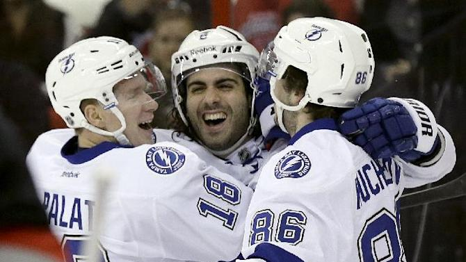 Barberio's 2 goals lift Tampa Bay past Canes 5-3
